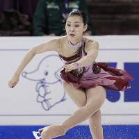 Good timing: Kanako Murakami, who won the Four Continents in Taipei on Saturday, is displaying peak performance with the Sochi Olympics just days away. | AP