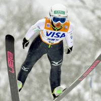Golden girl: Sara Takanashi, who has 17 career World Cup victories, will be the heavy favorite to win the inaugural women's ski jumping event at the Sochi Olympics.    | KYODO