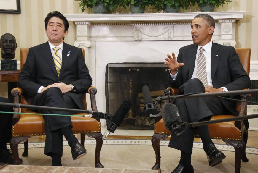 Abe's diplomatic overtures are likely to fall on deaf ears