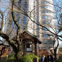 The inn place: The Prince Sakura Tower Tokyo, reopened after major refurbishment in September, is among hotels bracing for intensifying competition ahead of the 2020 Tokyo Olympics. | KYODO