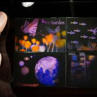 Visions of the future: Holographic images are printed onto photopolymers by Pioneer's newly developed hologram printer.   KAZUAKI NAGATA
