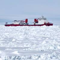 Icebreaker signals China poles goals