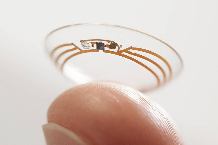 Google creates glucose monitor in contact lens