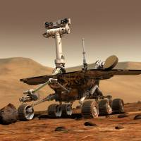 Mars rover marks a decade of work