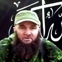 Little reassurance: This screen grab taken from an undated video posted on July 3, 2013, on the Islamist rebel mouthpiece kavkazcenter.com shows a man identified as Russia's top Islamist leader, Doku Umarov, recording his appeal in an undisclosed location. Chechnya strongman Ramzan Kadyrov on Friday asserted he was 99.9 percent sure Doku Umarov was dead and thus not threatening the Sochi Olympics anymore. | AFP-JIJI