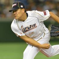 I want to be a part of it: Tohoku Rakuten Golden Eagles pitcher Masahiro Tanaka has agreed to join the New York Yankees in a seven-year, $155 million deal. | AFP-JIJI