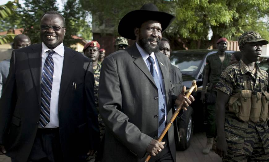 Alleged S. Sudan coup plotters flown to Kenya