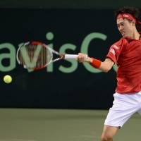 Japan, Canada all square after first day of Davis Cup clash