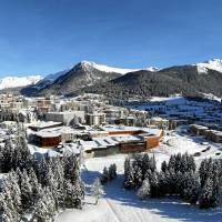 The congress center in Davos, Switzerland, where the Annual Meeting 2014 of the World Economic Forum is taking place. | SWISS IMAGE