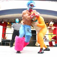 Pro-wrestling builds character