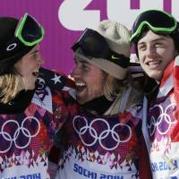 U.S. slopestyle snowboarder takes Sochi's first gold