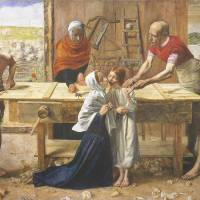 'Christ in the House of His Parents' (1849-50) by John Everett Millais | COURTESY OF TATE BRITAIN