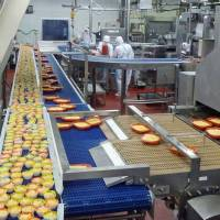 Just another cog in the wheel: Employees have told reporters of oppressive conditions at the Aqlifoods factory in Oizumi, Gunma Prefecture (seen above in 2012) where worker Toshiki Abe is suspected of poisoning frozen foods that sickened hundreds. | KYODO