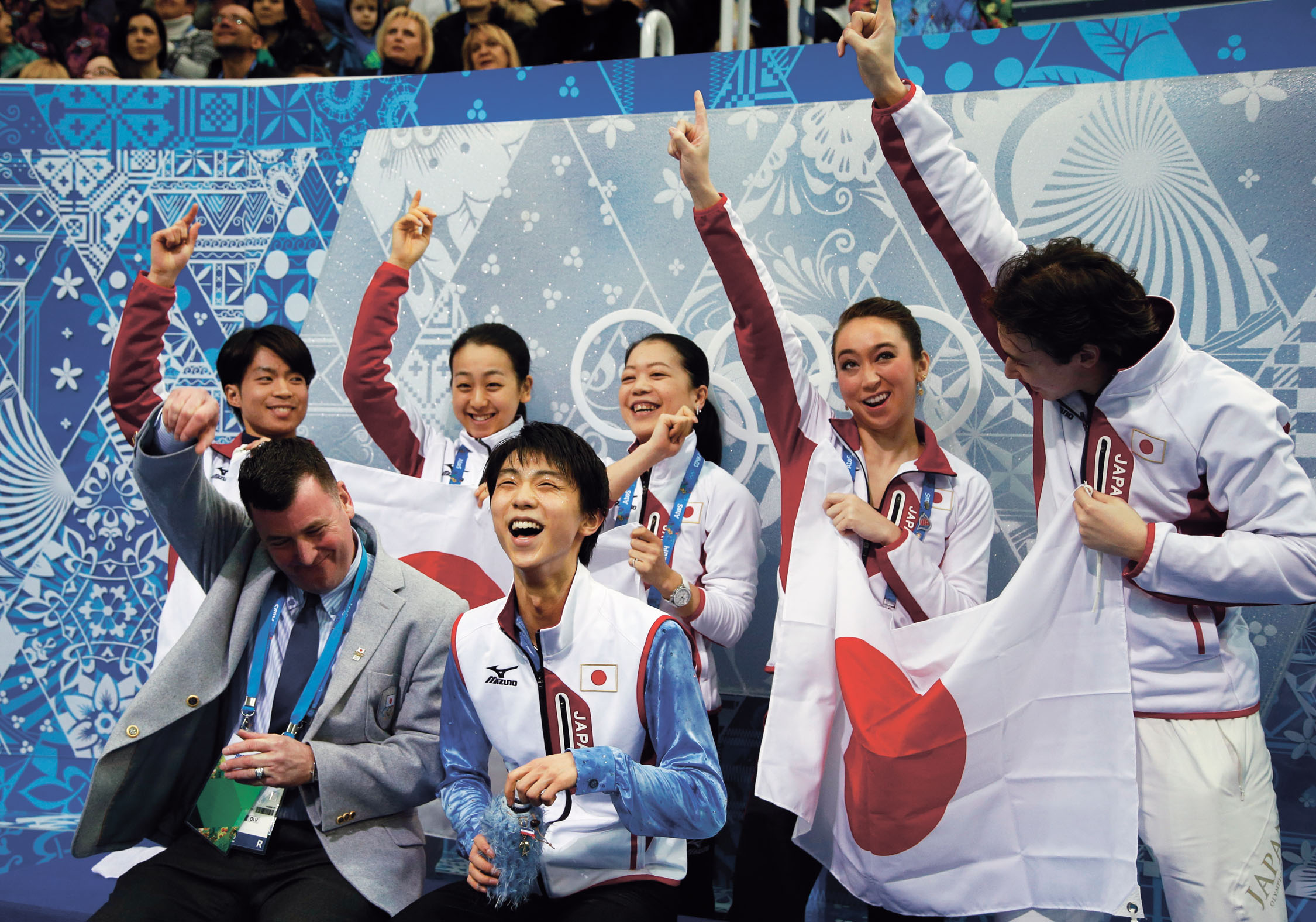 hanyu dazzles in team competition
