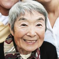 Time of peace: Happiness is long life. | KYODO