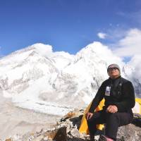 'Three times is enough': Yuichiro Miura poses for a photograph at Mount Everest Base Camp. | PHOTO COURTESY OF MIURA DOLPHINS