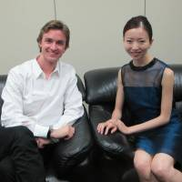ABT soloists Jared Matthews and Yuriko Kajiya pictured during their JT interview in Tokyo in August 2013. | NOBUKO TANAKA