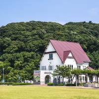 The Port of Tsuruga Museum, which is sited below the hill on which once-embattled Kanagasaki Castle formerly stood. | ALON ADIKA PHOTO