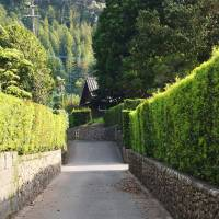 A lane in Chiran's samurai district. | WINIFRED BIRD