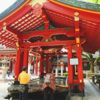 Dazaifu dalliance reveals curious case of a plum-struck deity