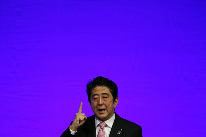 Amendment not needed for collective defense: Abe
