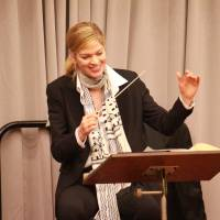 First female conductor at NNTT performs 'Madama Butterfly'