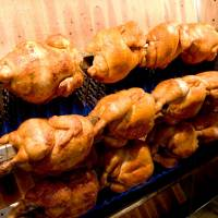 Polynesian promise: Fire-roasted chicken at Maui Mike's in the Tokyo suburb of Hakusan. | REBECCA MILNER