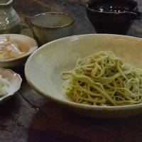 Take a dip: Finely cut noodles at Sobakiri Karani. | JJ O'DONOGHUE