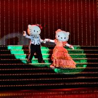 Dancing queen: Hello Kitty is the star attraction at Sanrio Puroland, a theme park with an eye for mind-bending theatrics. | JASON JENKINS