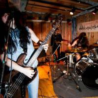 Grind it: Tokyo's Sete Star Sept will play the Obscene Extreme Festival with a slew of thrash, grindcore and death metal bands.