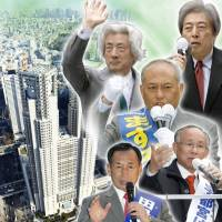 Tokyo gubernatorial candidates speak on Olympics, nuclear power, disasters