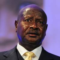 Ugandan President Yoweri Museveni addresses the London Summit on Family Planning in July 2012. Museveni said Friday he will sign a bill banning 'aggravated' homosexual acts. | AP