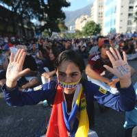 Students lead Venezuelan protests