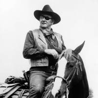 John Wayne is shown in a scene from the 1969 movie 'True Grit,' which brought him an Academy Award for best actor.   AP