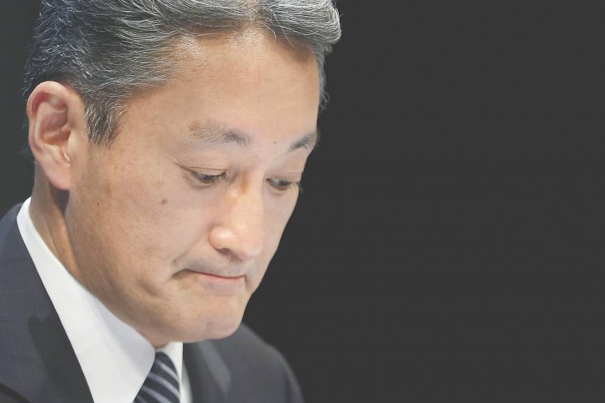 Sony revision spurs credibility crisis for Hirai