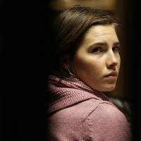 Killer or victim?: Amanda Knox attends a hearing in her appeals trial on Dec. 18, 2010, at the courthouse in Perugia, Italy. | AP
