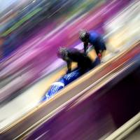 Olympics: Bobsled 'breaks legs' of worker in track crash