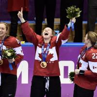 Canada rallies past U.S. for Olympic gold in women's hockey