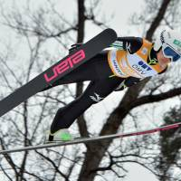 Feast or famine: Sara Takanashi is the overwhelming favorite to win gold in the inaugural Olympic women's ski jumping competition. | AP
