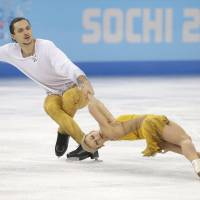 Volosozhar, Trankov restore Russia to summit with pairs gold