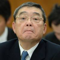 NHK chief 'asked senior management to quit' on first day in office