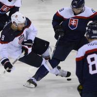 Russia, United States renew hockey rivalry