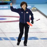 Japan's women stay in contention for curling medal