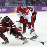 Jagr, Czech Republic prevail against Latvia