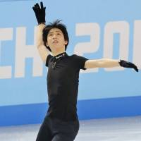 His chance to shine: Yuzuru Hanyu, who captured the gold at the Grand Prix Final in Fukuoka, has been named Japan's skater for the short program of the men's singles portion in the team competition on Thursday. | KYODO