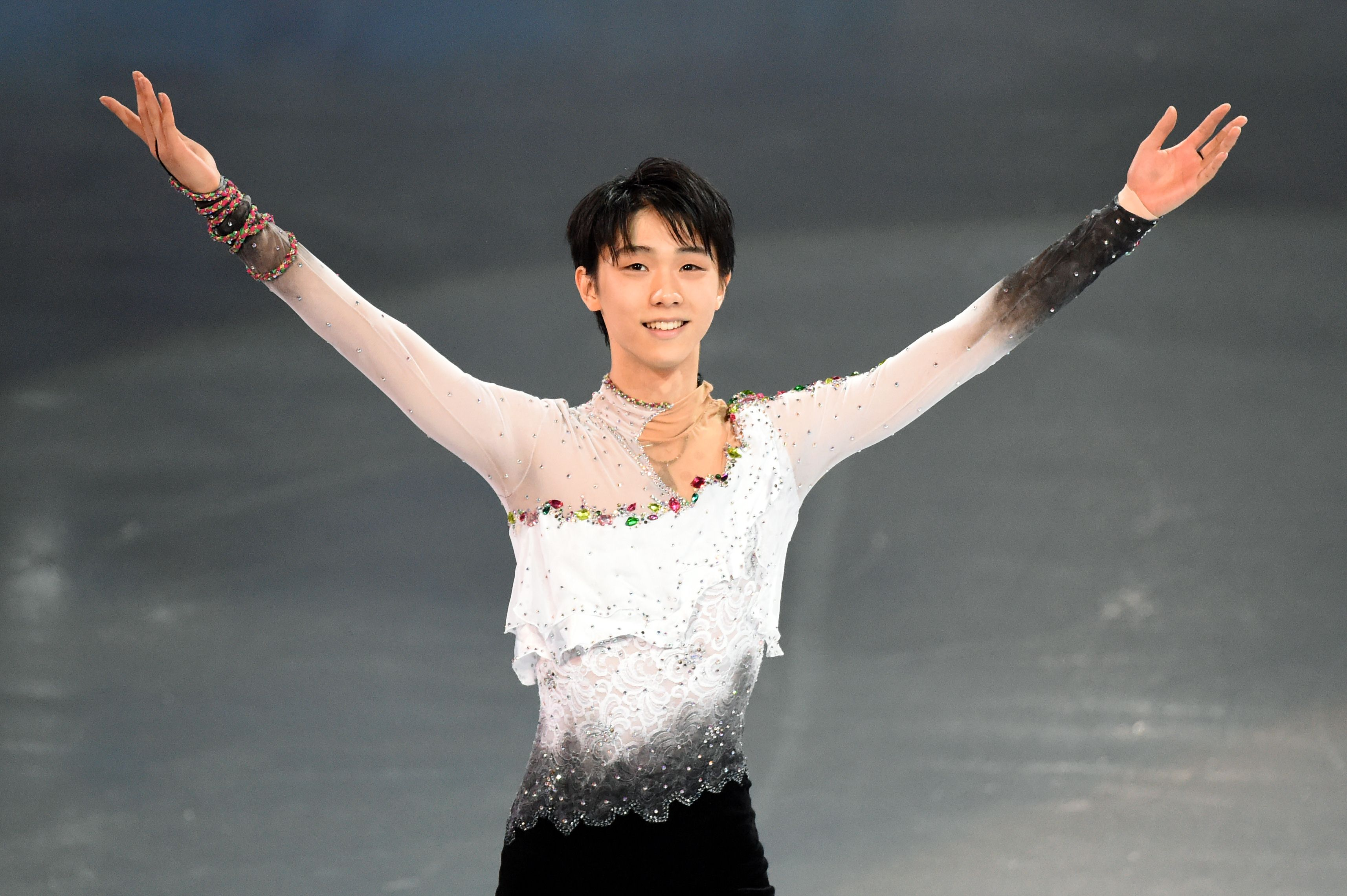 No easy journey: Yuzuru Hanyu, Japan's first men's champion in Olympic figure skating, faced difficult challenges to reach the 2014 Sochi Games in the aftermath of the March 11, 2011, disasters. | AFP-JIJI