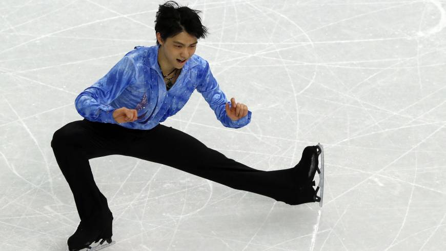 Place in history: Yuzuru Hanyu's triumph in men's figure skating produced Japan's lone gold medal at the Sochi Olympics.