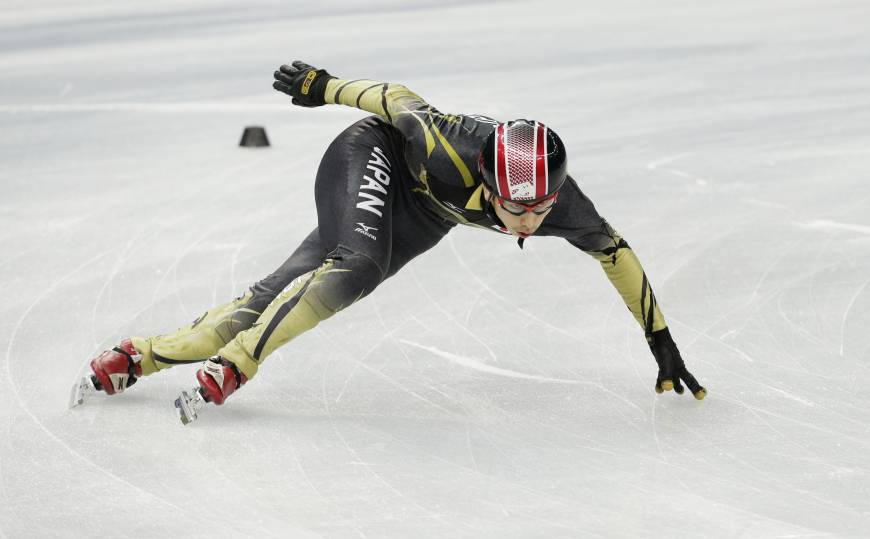 Olympic short tracker Hamelin aims for record-setting performance