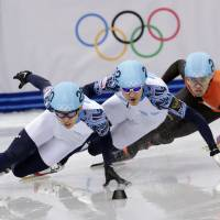 Ahn collects second medal on short track