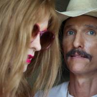 Texan team: Jared Leto (left) and Matthew McConaughey both lost weight to play HIV-positive characters in Jean-Marc Vallée's film, 'Dallas Buyers Club.' |  © 2013 BASS FILMS, LLC AND MONARCHY ENTERPRISES S.A.R.L. IN  THE REST OF THE WORLD. ALL RIGHTS RESERVED.